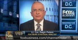 Ralph Peters, Fox News Commentator