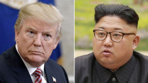 Trump and Un